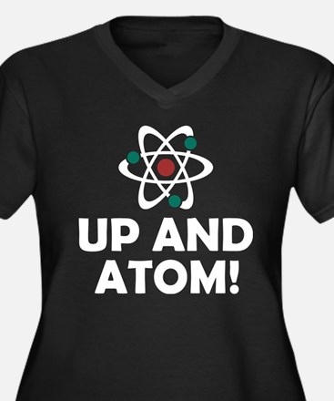 Up and Atom Plus Size T-Shirt