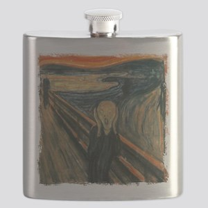 The Scream Flask