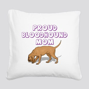 bloodmom Square Canvas Pillow