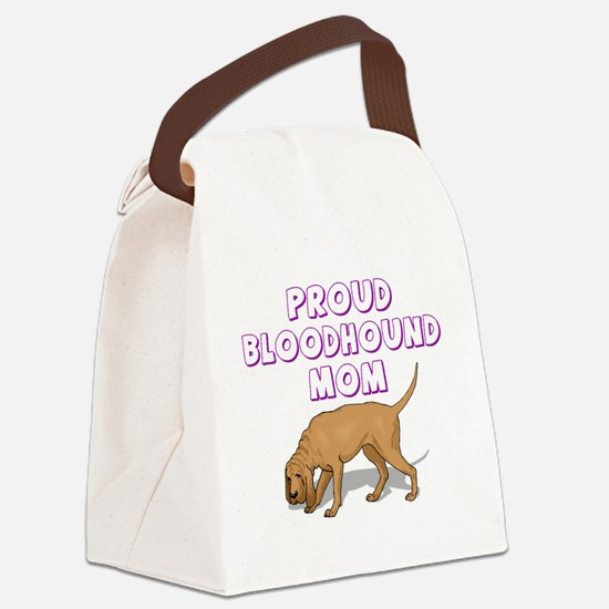 bloodmom.png Canvas Lunch Bag