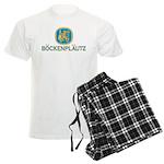 Bockenplautz Blue Logo Men's Light Pajamas