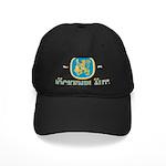 Bockenplautz Blue Logo Black Cap