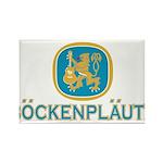 Bockenplautz Blue Logo Rectangle Magnet (10 pack)