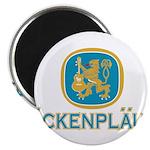 Bockenplautz Blue Logo Magnet