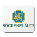 Bockenplautz Blue Logo Mousepad