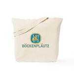 Bockenplautz Blue Logo Tote Bag