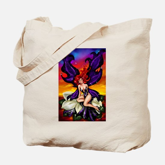 """Gardenia Fae"" Tote Bag"
