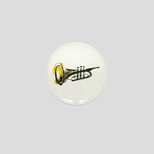 Trumpet Mini Button