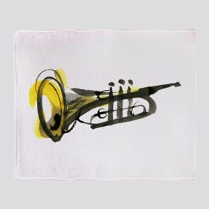 Trumpet Throw Blanket