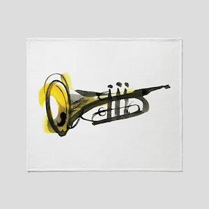 Trumpet Throw Blanket