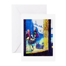 Mystic Blue Lagoon - Greeting Cards (Pk of 10)