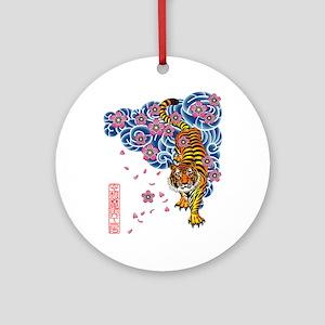 Tiger cherry Ornament (Round)