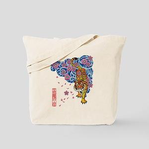 Tiger cherry Tote Bag