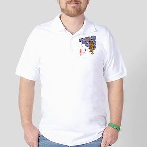 Tiger cherry Golf Shirt