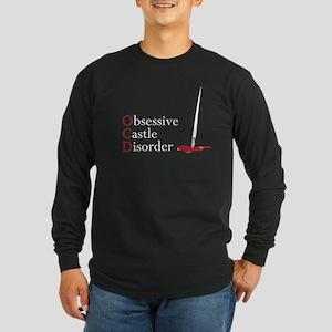 OCD, obsessive castle disorder Long Sleeve Dark T-