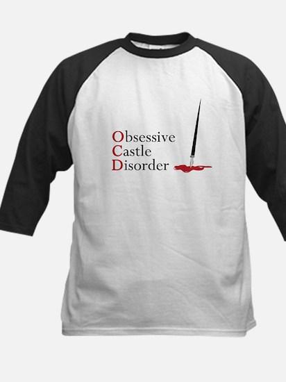 Obsessive Castle Disorder Kids Baseball Jersey