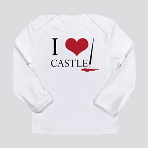 I Heart Castle Long Sleeve Infant T-Shirt