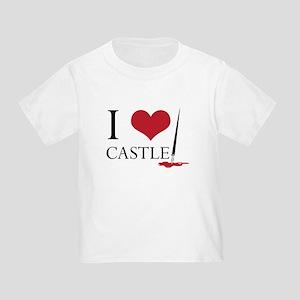 I Heart Castle Toddler T-Shirt
