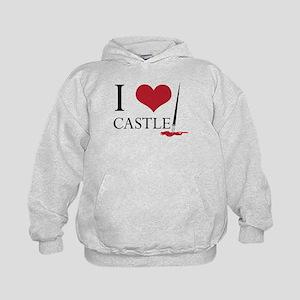 I Heart Castle Kids Hoodie