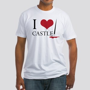 I Heart Castle Fitted T-Shirt