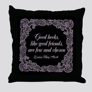 Good Books Throw Pillow
