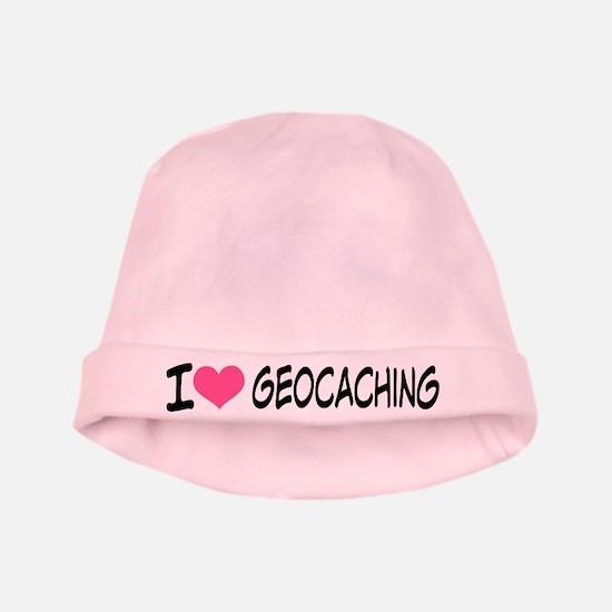 I Heart Geocaching baby hat