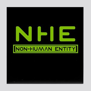 NHE Non Human Entity Tile Coaster