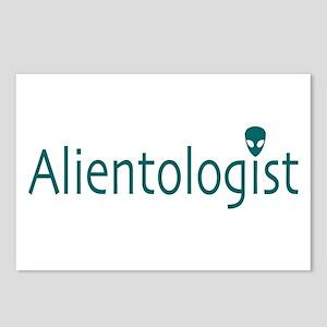 Alientologist Light Postcards (Package of 8)