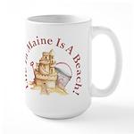Life's a Beach! Large Mug