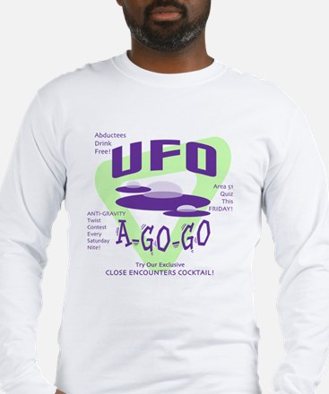 UFO A Go Go Light Long Sleeve T-Shirt