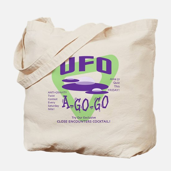 UFO A Go Go Light Tote Bag