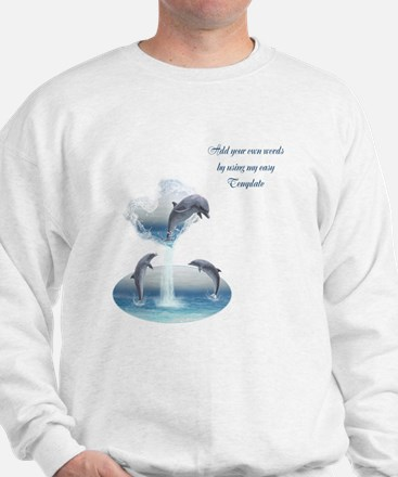 The Heart Of The Dolphins Sweatshirt