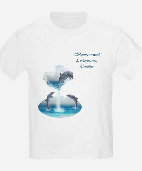 The Heart Of The Dolphins T-Shirt
