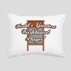 Greatest Washboard Rectangular Canvas Pillow