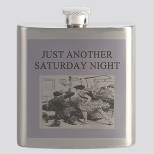 funny dominstrix gifts t-shirts Flask