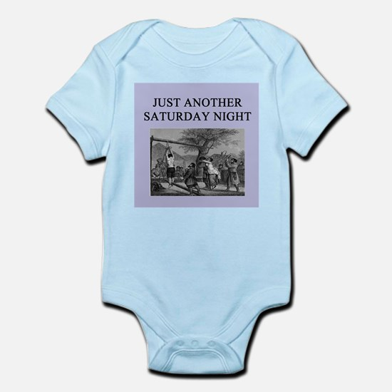 funny sadism joke gifts t-shirts Infant Bodysuit