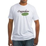 Crappochino Fitted T-Shirt