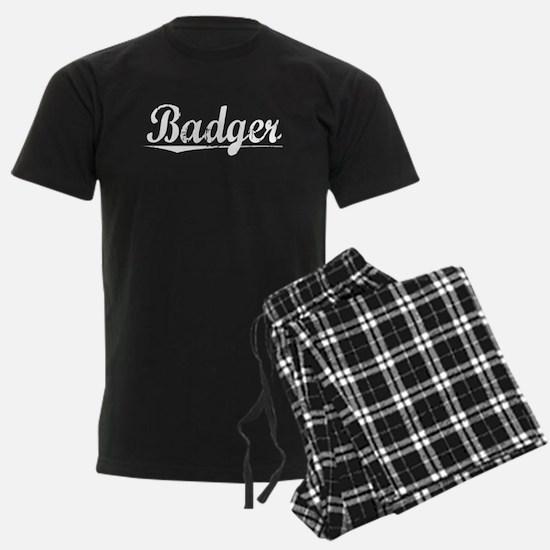 Badger, Vintage Pajamas