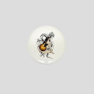Dragon ladie Rock N Roll Mini Button