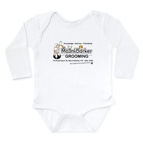 Mount Barker Grooming Long Sleeve Infant Bodysuit