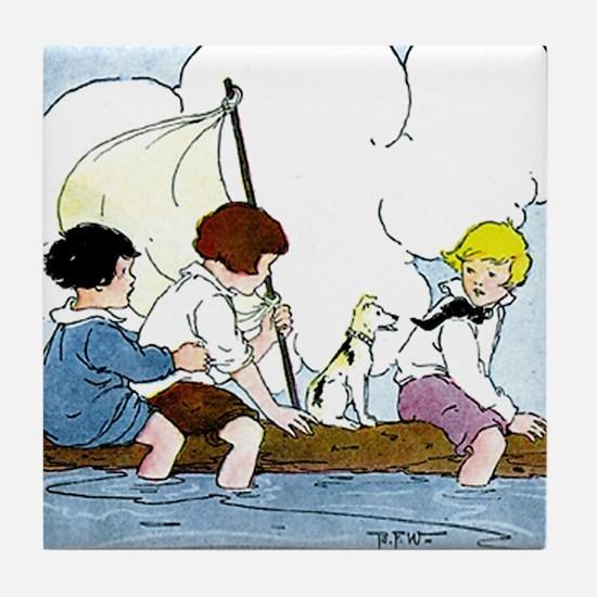 Setting Sail Tile Coaster