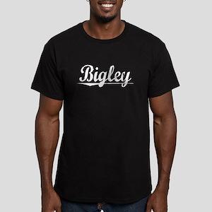 Bigley, Vintage Men's Fitted T-Shirt (dark)