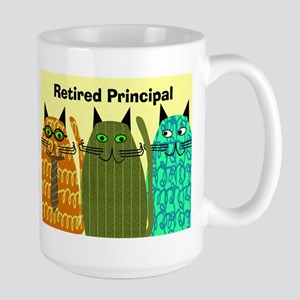 Retired Principal Blanket 2 Large Mug