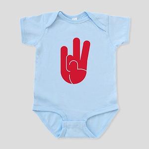 Houston Hand Gesture Infant Bodysuit