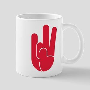 Houston Hand Gesture 11 oz Ceramic Mug