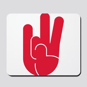 Houston Hand Gesture Mousepad