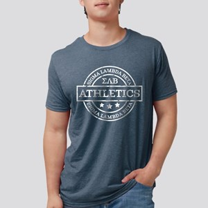 SigmaLambdaBeta Athletics P Mens Tri-blend T-Shirt