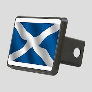 Scottish Saltire Rectangular Hitch Cover