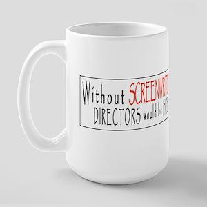 SCREENPLAY/HOBO Large Mug