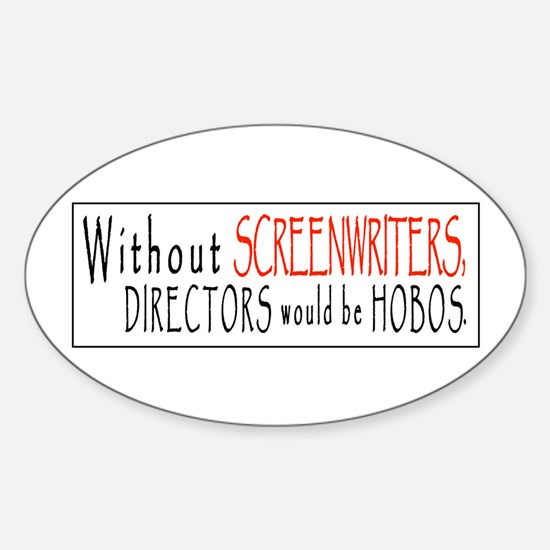 SCREENPLAY/HOBO Oval Decal